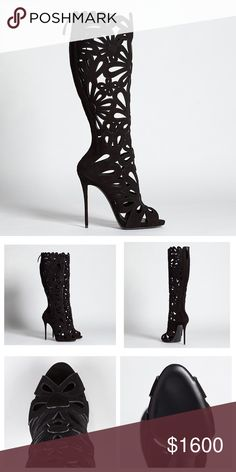 87bca1617bb6 Spotted while shopping on Poshmark app  Giuseppe Zanotti Suede Cutout Boots  selling by  racheldabbs