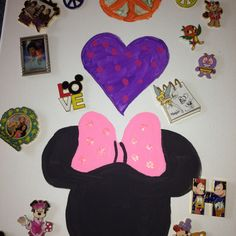 Another of our Disney pin boards