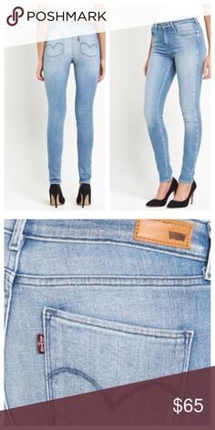 c402600b54 Levi's® High Rise Skinny Jeans - Blue Breeze Size: 25 Color: Light Wash