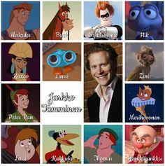 Suomalaiset dubbaajat: Jarkko Tamminen Pixar, Scooby Doo, Dreams, Disney, Fictional Characters, Art, Art Background, Pixar Characters, Kunst