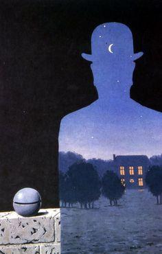 L'Heureux Donateur -- René Magritte -- 1966