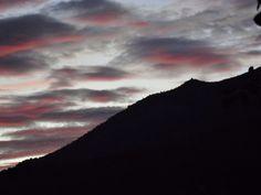 Sierra de San Vicente (Toledo) - Photo Fantasy. Nubes rosas y azules...