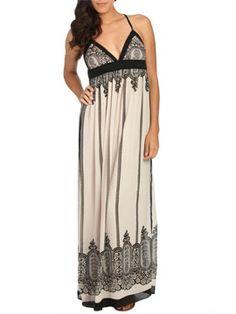 neighburhood.com - Pin Details: Paisley Border Maxi Dress |...