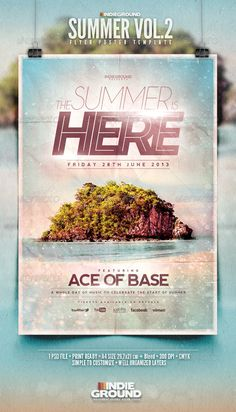 Summer Flyer/Poster Vol. 2 - Events Flyers