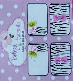 Manicure E Pedicure, Nails Inspiration, Hair Beauty, Nail Art, Stickers, Prints, Easy Nail Art, Nail Arts, Nail Stickers