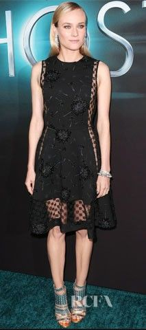 Diane Krueger  Dress Thakoon