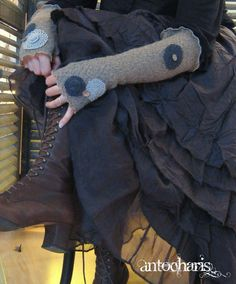 Love the boots and skirt (not so keen on the gloves)