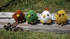 free pattern - cute baby chicken for Easter!