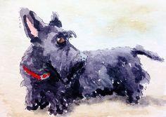Scottie Dog  by Patch