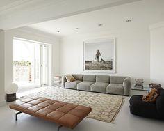 leather sofa PK80  50's Poul Kjaerhol