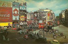 Vintage London Postcard, via Flickr.