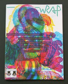 slowalk :: 보는 재미 + 포장하는 재미! 잡지 Wrap ▶ 환경을 생각하는 잡지: 버려지는 잡지들로 선물을 포장하는 아이디어~괜찮은데요~