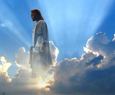 My image of god is him a man in heaven looking down on us and helping us make good choices in life