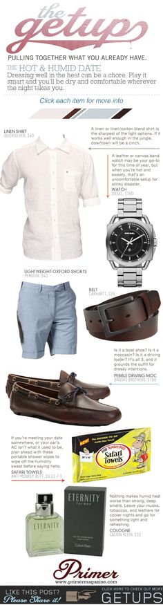 The Getup: The Hot & Humid Date - Primer