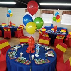 Khi'an's Paw Patrol Birthday Party by Help Me Plan! Paw Patrol Birthday Decorations, Paw Patrol Birthday Theme, Paw Patrol Centerpieces, Balloon Centerpieces, Paw Patrol Balloons, Boy Birthday Parties, 2nd Birthday, Birthday Party Centerpieces, Party Ideas