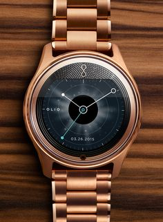 [Icon of the brave] Desire originality. Meet the Olio Model One encased in 18K Rose Gold.