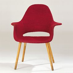 Charles Eames And Eero Saarinen 1940 Organic Armchair