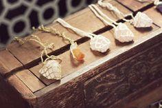 crystals!!!!! ( #stones #necklace #DIY )