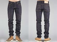 (5) Okayama Spirit 16oz Unsanforized Denim Jeans. Slim Guy, Super Skinny Guy & Weird Guy Fits. - Naked & Famous 2013-2014 Fall Winter Mens Denim Jeans & Chinos Preview from Blue Owl Workshop Seattle