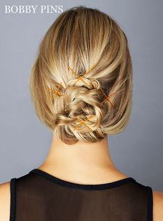 Ideas for Hairstyles with Bobby Pins - How to Use Bobby Pins -Book an appointment with an award winning stylist Call us on 02074368099 http://redhedlondon.co.uk/