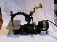 Antique-Willcox-Gibbs-Sewing-Machine