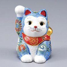 九谷焼 招き猫 - Google 検索