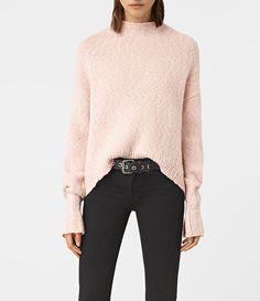 AllSaints New Arrivals: Popcorn Funnel Neck Sweater