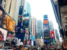 Times Square in New York, NY