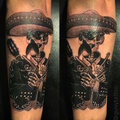 #mexican #mariachi #tattoo #cholo #latino #tatouage #mexicain #tatoo #mustache #moustache #zapata #gangster #artforsinners #guivy #geneva #geneve #gva #suisse