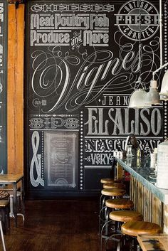 Love the Charcoal Blackboard, I want one in my kitchen too.