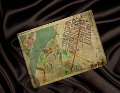 New York Broadway Street City Map Wall Art Home by MyBestCards