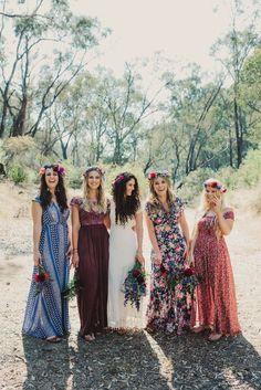 Treeblog: A DIY Boho Wedding