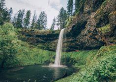 peaceful-moon:  Silver Creek Falls Oregon