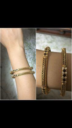 Bracelets – Page 17 – Finest Jewelry Gold Bangles Design, Gold Jewellery Design, Designer Bangles, Bridal Jewellery, Jewellery Making, Wedding Jewelry, Silver Bracelets, Bangle Bracelets, Wedding Earrings Studs