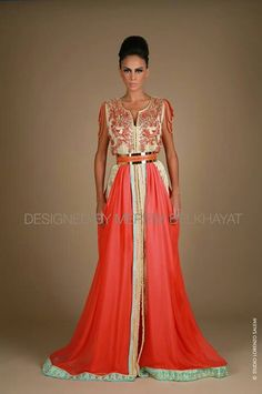 Morrocan wedding kaftan, beautiful!