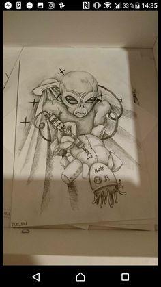 Tattoo alien