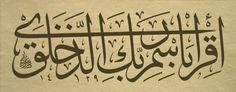FIrst verse was Read.... in Quran