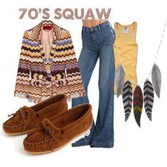 70's squaw