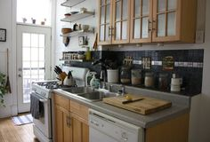 I LOVE these cabinets/countertops/hardware for our kitchen. And the whole house tour is perfect!