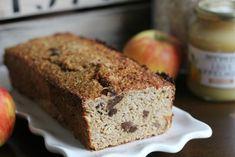 appelmoescake met havermout Healthy Bars, Healthy Baking, Cake Truffles, Pcos, Cookie Bars, Banana Bread, Sweets, Cookies, Breakfast