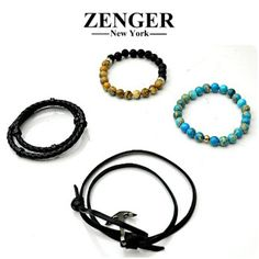 These Zenger bracelets come in a variety of colors and styles. Find one that's perfect for you, only at Flip! To purchase, call (615) 256-3547. We ship! Featured items: Zenger bracelets (7.5) $48-$64 - #nashville #flipnashville #consignment #menswear #designerconsignment #nashvillenow #zengernewyork
