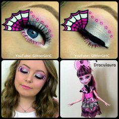 Monster High Draculaura Exchange doll makeup. Youtube channel: full.sc/SK3bIA