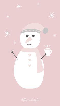 Snowgirl - Christmas Wallpaper