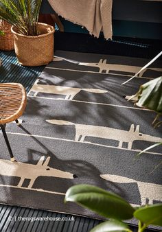 Scion Mr Fox, Leopard Rug, Fox Pattern, Fox Print, Geometric Rug, Indoor Outdoor Rugs, Grey Rugs, Rugs In Living Room, Charcoal