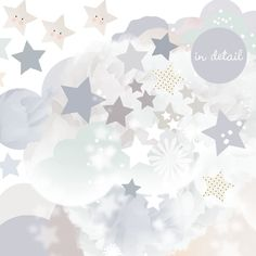 Beautifully crafted Schmooks wall stickers will help you create a wonderland of dreams for your little one. Neutral Wall Stickers, Placemat Design, Sleepy, Baby Corner, Baby Month Stickers, Baby Posters, Star Background, Watercolor Wallpaper, Interactive Activities