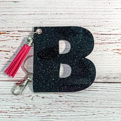 Excited to share the latest addition to my #etsy shop: Personalized acrylic keychain | Cute Gift | Custom tassel keychain Cute Gifts, Great Gifts, Tassel Keychain, Color Pop, Tassels, Etsy Shop, Lettering, Fun, How To Make