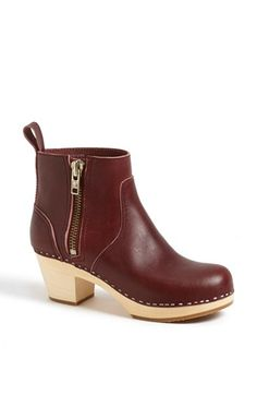 I am DYING for these in black. Swedish Hasbeens 'Emy' Bootie available at #Nordstrom