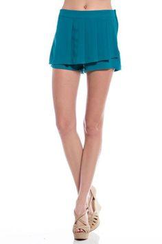 Steezyer> Shorts> YWP5160 A LINE MINI SHORTS usfashionstreet.com