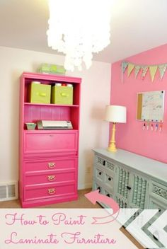 How To: Paint Your Laminate Furniture by Classy Clutter by Mallory and Savannah on Bob Vila Nation