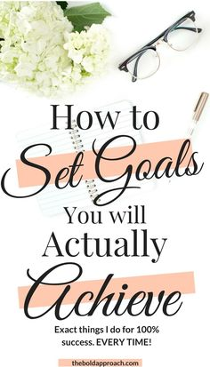 This printable is so helpful! We all have goals. Setting them is easy, but actually getting them done is more difficult. Set yourself up for success with these super helpful goal setting tips and FREE PRINTABLE.
